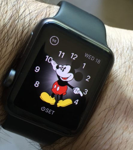 photo of Apple Watch on someone's wrist
